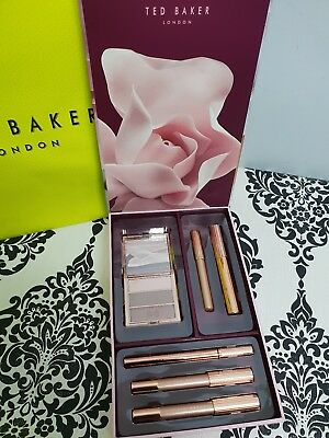 Ted Baker All In The Eyes Make Up Eye Shadow Mascara Pencil Gift Set