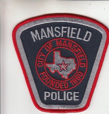 Mansfield Police Shoulder Patch Texas Tx