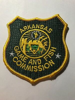 Old AR Arkansas DNR Fish and Game Warden Police Patch