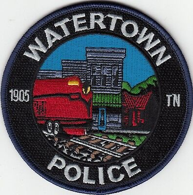 Watertown Police (Train) Patch Tennessee Tn