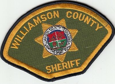 Williamson County Sheriff Tennessee Police Patch Tn