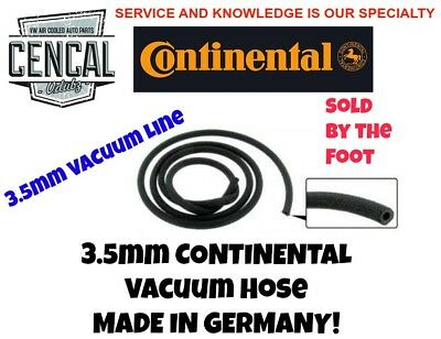5mm Gas Fuel Hose Line Cloth wrapped German VW Bug Type 3 Bus OEM By The Foot