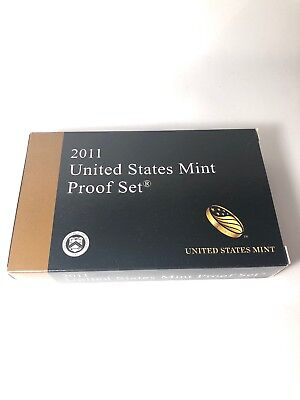 2011 S United States U.S. Mint 14 Coin Proof Set Presidential $1 w/ Box & COA