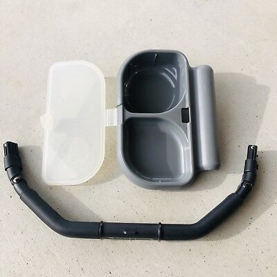 Orbit Baby stroller seat G2 G3 SUPPORT BAR w/Cereal Snack Tray