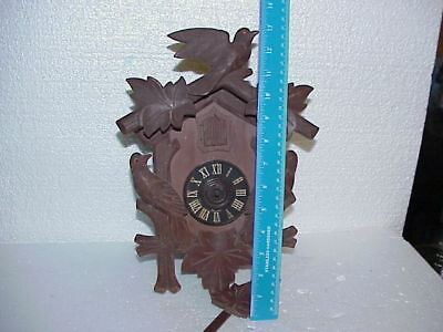 Vintage E. Schmeckenbecher Regula 8 Day Cuckoo Clock parts repair D