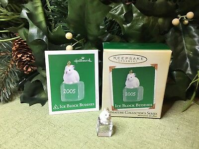 Hallmark 2005 - Ice Block Buddies - Miniature Ornament, No. 6 In Series