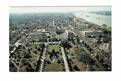 1960's Postcard, South View From Louisiana Capitol,  22-Pc187
