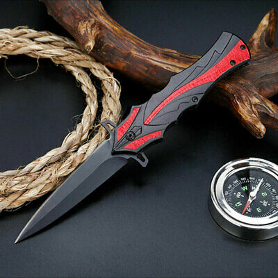 Opening Folding Pocket Knife Tactical Outdoor Camping Hunting Fishing Dagger F21