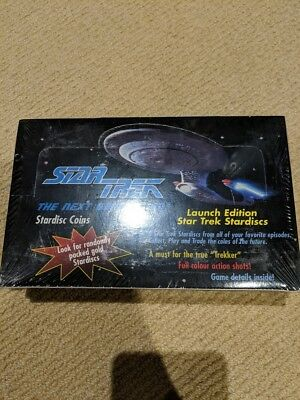 Star Trek Next Generation Stardisc Coins Tazo Pog -  Box New In Package