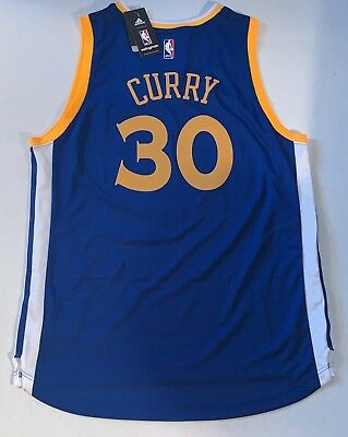 dcd46fdedf55 Stephen Curry Golden State Warriors Adidas Swingman jersey Size Large Steph