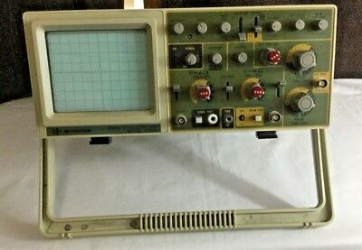 BK Precision 2160A ANALOG OSCILLOSCOPE, 2 CHANNEL, DUAL TRACE, 60MHz Tested wks