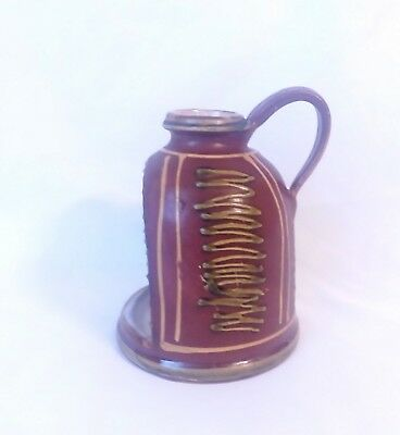 Rare Omega Workshops Art Pottery candle holder Arts&Crafts Period London