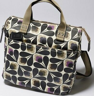 c14b77ae81 ORLA KIELY MATTE laminated backpack Sycamore Seed print. RRP £164.00 ...