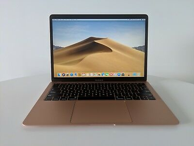 Apple MacBook Air 13 inch Retina 2018 i5 8GB 128GB Touch ID Gold Latest Model
