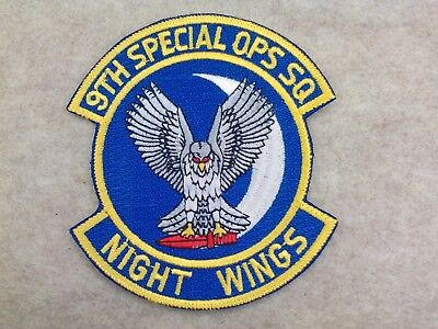 U.s.a.f..9Th Special Operations Squadron. ( Night Wings ), 80's, New, Authentic