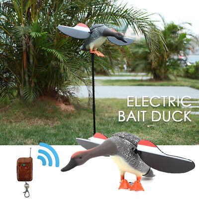 53DA PE Decor Scarecrow Decoying Garden Motor-Driven Hunting Decoys Duck Decoy