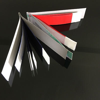 10 Sheets*20 Book Articulating Paper Dental Practical Red Thin Strips Red/Blue
