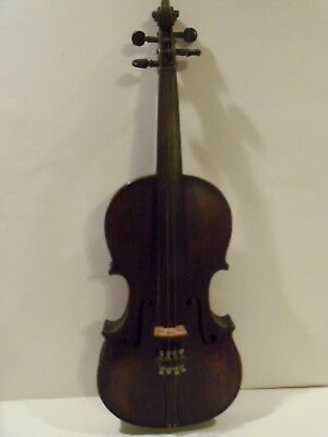 Very Old Vintage Antique Violin,full Size Violin
