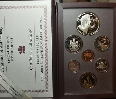 Canada 1995 Special Edition Proof Set with Silver Dollar 129-25