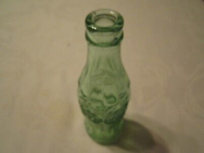 Vintage Coca Cola Coke Green Glass 6 oz. Bottle - Embossed ALEXANDRIA VA (20)