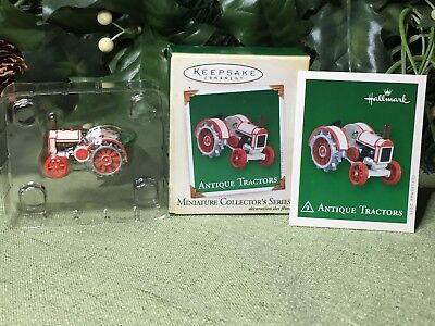 Hallmark 2005 Antique Tractors, Die Cast Metal Miniature Ornament #9 in Series