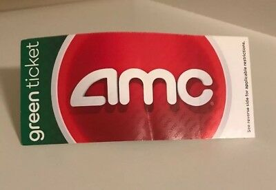 AMC Green Movie Ticket - No expiration date
