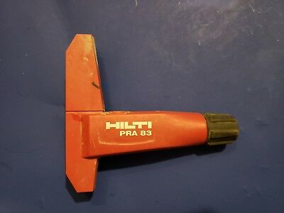 Hilti PRA 83 laser detector holder CLAMP ONLY for PRA 20 PMA 30 31 36 2071084