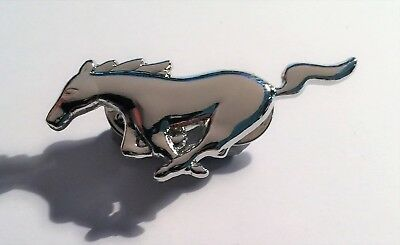 Ford Mustang, Pony, V8 Super Car Badge, Hat Pin, Lapel Pin, 2 clutches