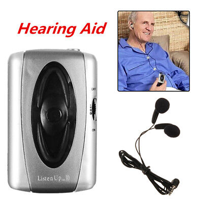 Sound Amplifier Hearing-Aid Listening Device the Aged Headset Tool New
