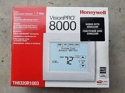 Brand New Honeywell  Touch Screen Thermostat 8000 Th8320R1003 Programmable