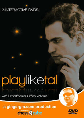 Wholesale Chess Play Like Tal with Grandmaster Simon Williams Chess DVD