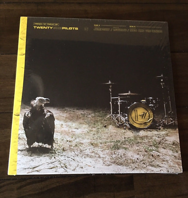 Twenty One Pilots 21 10' Trench Triplet EP Vinyl Transparent Yellow Record Album