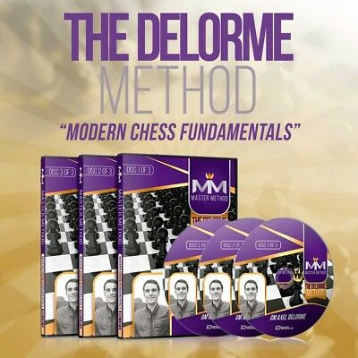 Wholesale Chess MASTER METHOD - The Delorme Method – GM Axel Delorme - Over 15 h