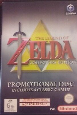 The Legend of Zelda Collector's Edition Nintendo Gamecube (Wii) PAL Promo Disc