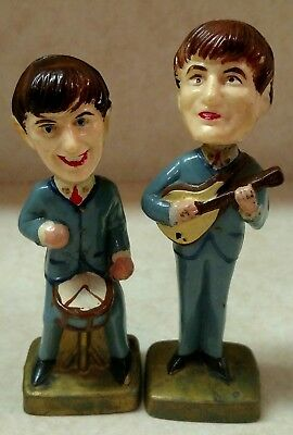The Beatles Bobblehead Nodders - Ringo Starr & George Harrison - Hong Kong 2 & 4