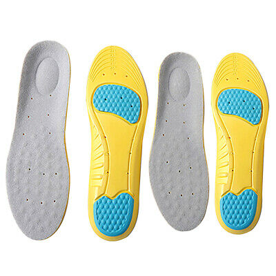 High Memory Foam Orthotic Arch Insoles Shoe Pads Pain Relief Foot Heel Cushion