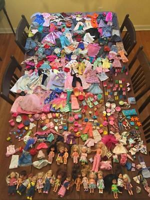 Vintage Barbie Lot of Doll Clothing, Shoes & Accessories