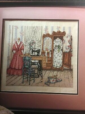 Paula Vaughan cross stitch pattern called 'Thoughts of Spring'