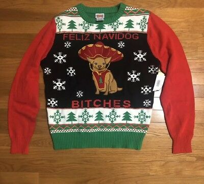 Chihuahua Ugly Sweater Christmas Cards Box Of 8 1174 Picclick Uk