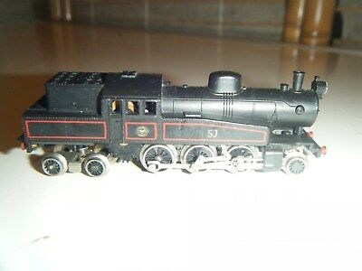 N scale unknown brand locomotive train untested for parts repair