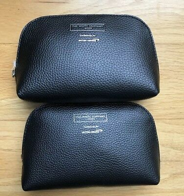 Lot of 2 British Airways The White Company Business Class Amenity Kits