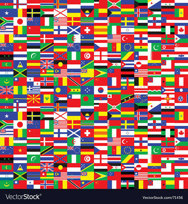 "Brand New Best Quality World Country Fun Flag 12""×18"" Polyester Indoor Outdoor"