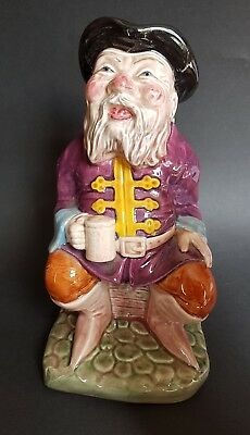 """Melba Ware """"Tale Teller"""" Large Toby Jug - 8¼ Inches tall"""