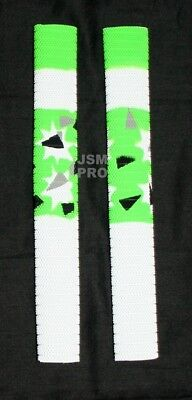 1 s - LATEST- JSM PRO 2 or 4  PLAYERS Green  STAR Camouflage  Cricket Bat Grip