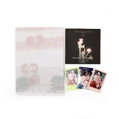 [GOT7]PRESENT:YOU&Me Repackage Album/Miracle ver.+3 YOUNGJAE Photocards