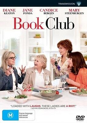 Book Club (Dvd, 2018) 🍿 [Brand New & Sealed]