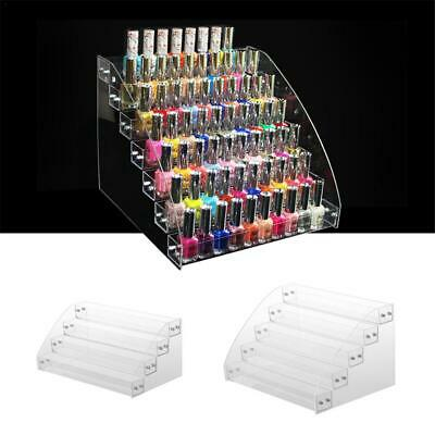 Jewelry Display Shelf Acrylic Makeup Organizer Lipstick Nail Polish Display Rack