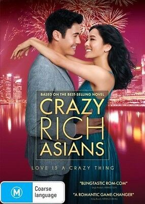 Crazy Rich Asians (Dvd, N/a) 🍿 [Brand New & Sealed]