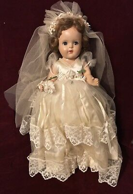 Vintage Madame Alexander All Composition Doll Unmarked Late 1930s