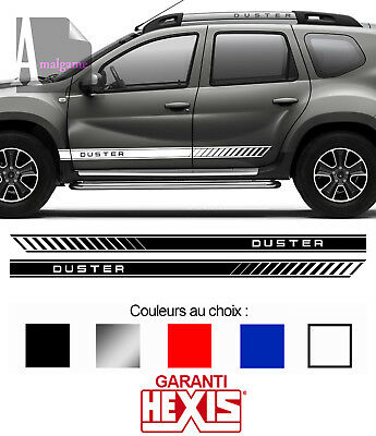 2 X BANDES LATERALES POUR DACIA DUSTER 4x4 4WD AUTOCOLLANT STICKER BD599-9